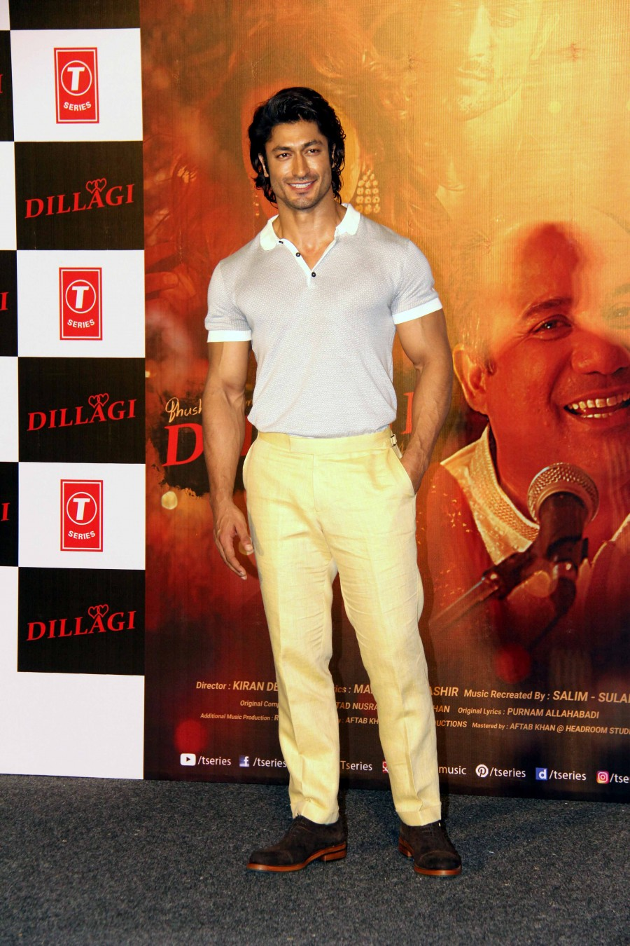 Dillagi Song launch,Dillagi music launch,Dillagi,Vidyut Jammwal,Huma Qureshi,Rahat Fateh Ali Khan,Dillagi song launch pics,Dillagi song launch images,Dillagi song launch photos,Dillagi song launch stills,Dillagi song launch pictures