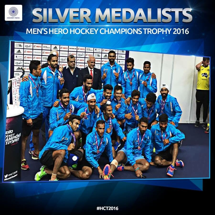 Hockey Champions Trophy,Champions Trophy,Hockey,India settle for maiden silver medal,India wins silver medal,silver medal,Australia,world champions Australia