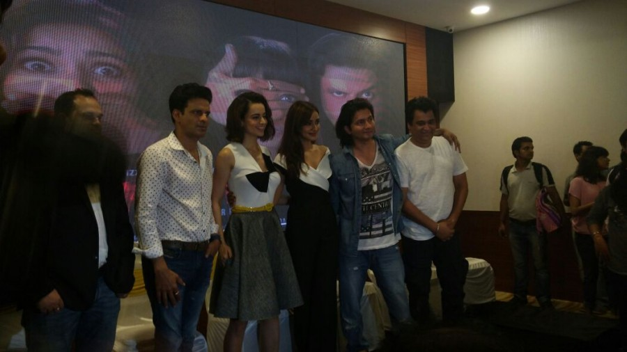 Kangana Ranaut,Shirish Kunder,Kangana Ranaut at Shirish Kunder's short film Kriti launch,Kangana Ranaut at Kriti movie launch,Kriti short film launch,Kriti short film launch pics,Kriti short film launch images,Kriti short film launch photos,Kriti sho