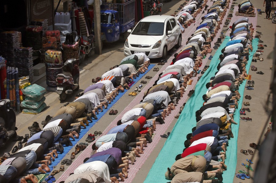 Muslims mark the holy month of Ramadan with fasting.