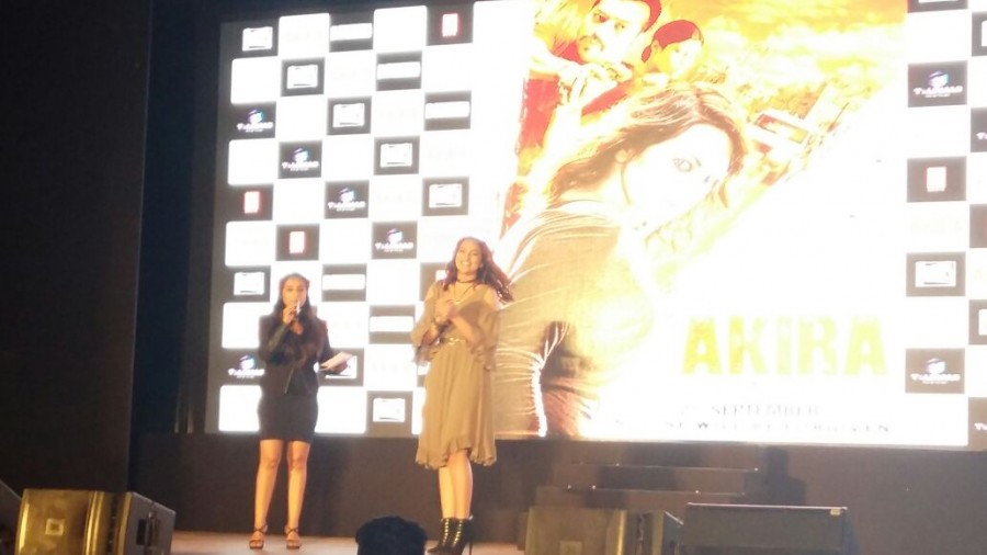 Akira Trailer,Sonakshi Sinha's Akira Trailer launch,Akira Trailer launch,Akira Trailer launch pics,Akira Trailer launch images,Akira Trailer launch photos,Akira Trailer launch stills,Akira Trailer launch pictures,AR Murugadoss