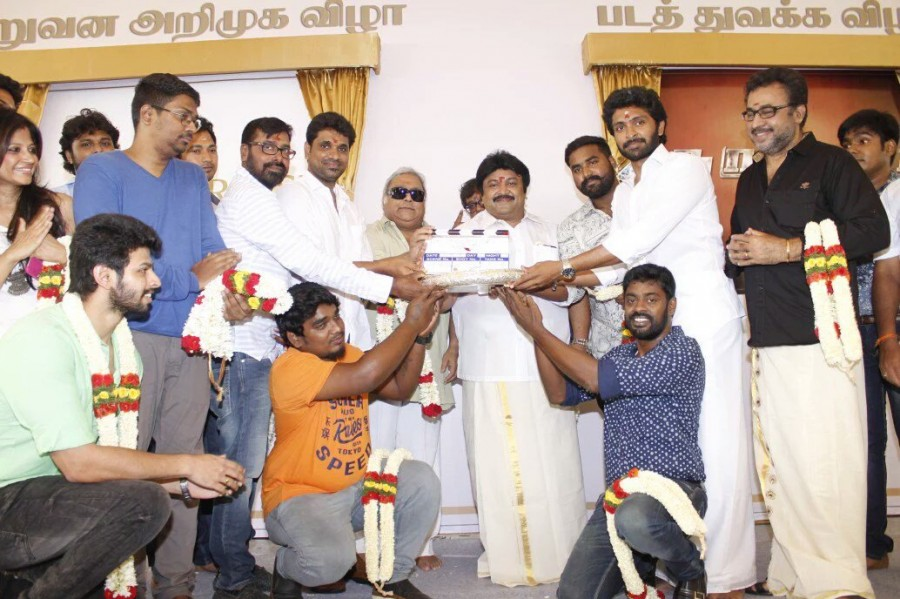 Neruppu Da,Neruppu Da movie launch,Vikram Prabhu,Sivakarthikeyan,KS Ravikumar,Kalaipuli S Thanu,RD Rajasekhar,Neruppu Da movie launch pics,Neruppu Da movie launch images,Neruppu Da movie launch photos,Neruppu Da movie launch stills,Neruppu Da movie launch