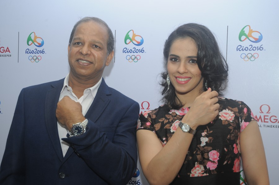 Rio 2016,Olympics 2016,Saina Nehwal receives special Omega watches,Saina Nehwal,Omega watches,special Omega watches,Badminton player,saina nehwal badminton player,Badminton player Saina Nehwal,Saina Nehwal pics,Saina Nehwal images,Saina Nehwal photos,Sain