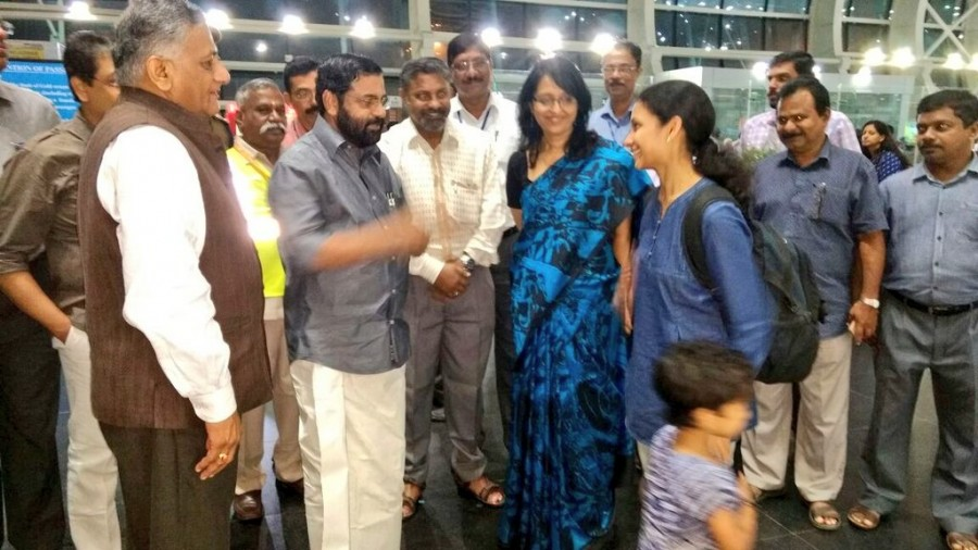 Thiruvananthapuram,South Sudan,Indian Air Force C-17,156 arrive from South Sudan in Thiruvananthapuram,#KeralaThanksModi,Kerala Thanks Modi