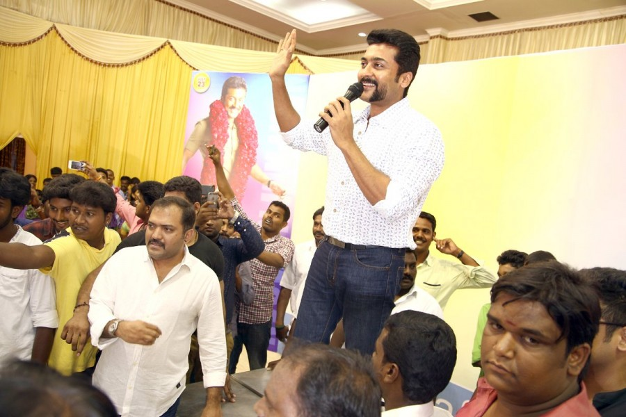 Suriya meets his fans on his 41st birthday photosimagesgallery south indian actor suriya meets his fans on his 41st birthday thecheapjerseys Image collections