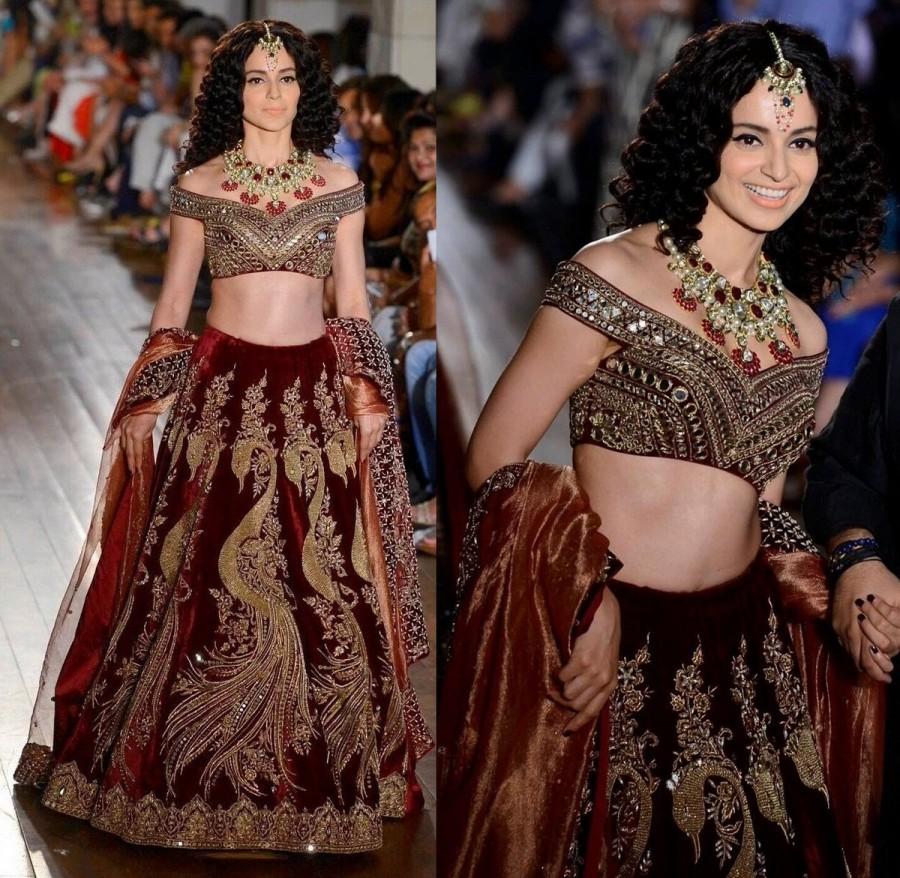 Kangana Ranaut,Kangana Ranaut as Mughal,Kangana Ranaut in Mughal,Kangana Ranaut turns Mughal,Manav Gangwani,India Couture Week 2016,FDCI India Couture Week,Fashion,Kangana Ranaut latest pics,Kangana Ranaut latest images,Kangana Ranaut latest photos,Kangan