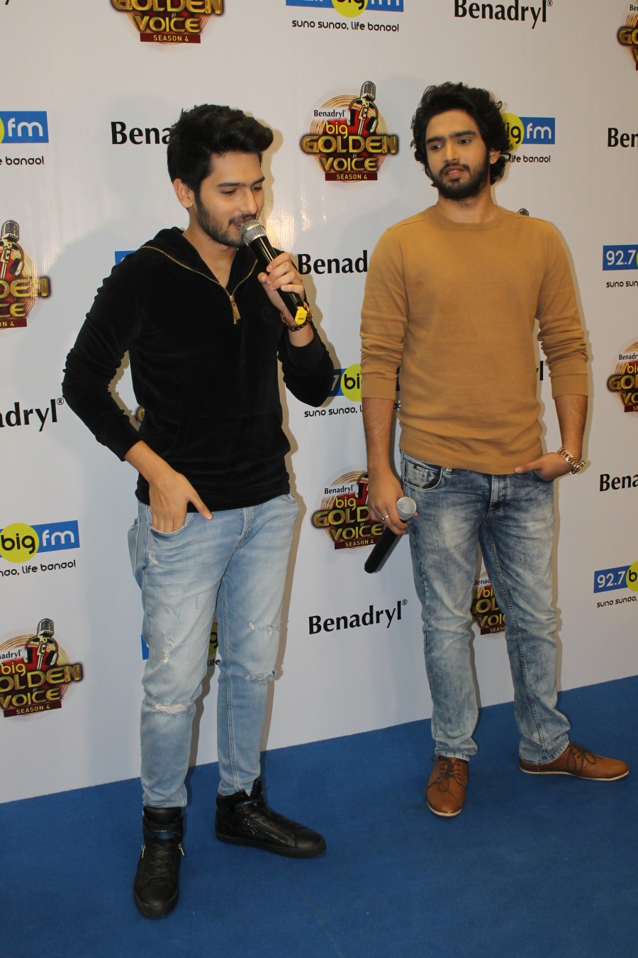 92.7 BIG FM,Benadryl Launch,Benadryl Launch Season 4,Benadryl BIG Golden Voice,Malik Brothers,Armaan,Amaal Malik,Armaan Malik