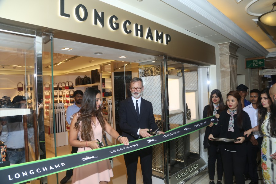 Jean Cassegrain,Longchamp launch in Delhi,Longchamp launch,Longchamp,French luxury house Longchamp,French luxury house,luxury market