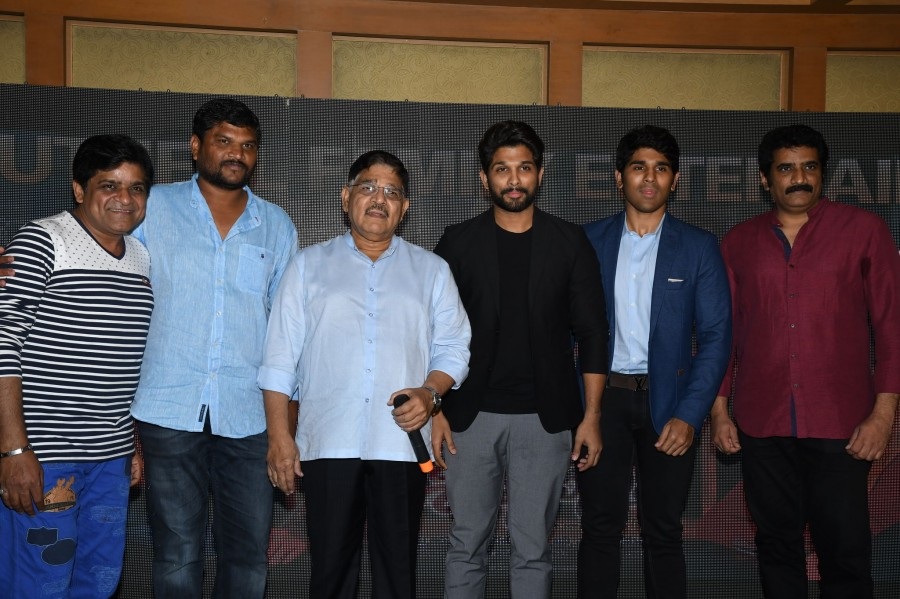 Allu Arjun,Srirastu Subhamastu Success Meet,Srirastu Subhamastu,Allu Arjun at Srirastu Subhamastu Success Meet,Allu Sirish