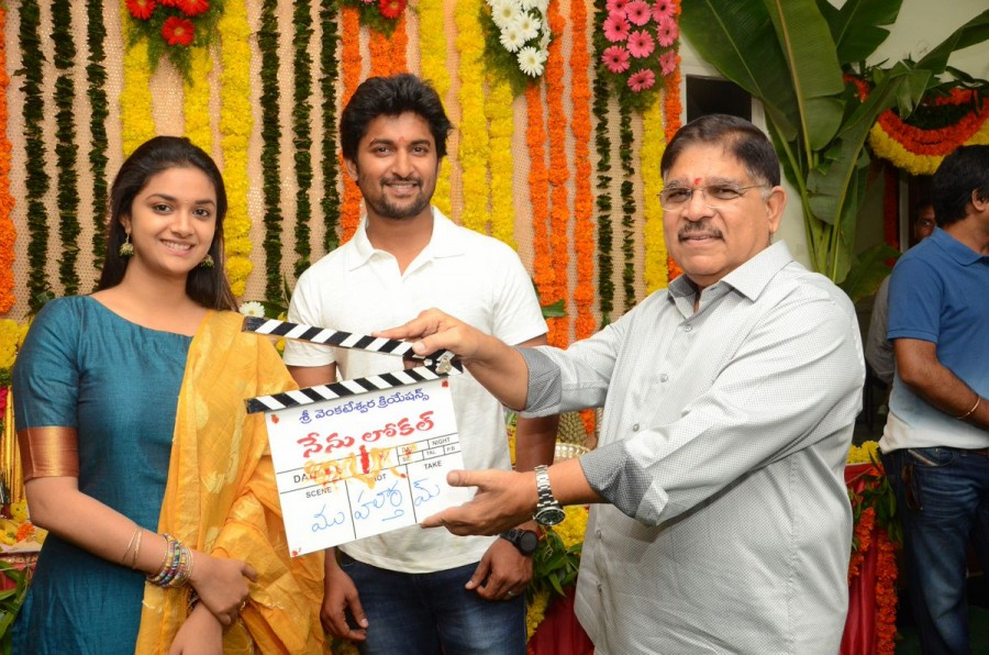 Nenu Local movie launch,Nenu Local,Nani,Keerthy Suresh,Nani and Keerthy Suresh,Nenu Local movie launch pics,Nenu Local movie launch images,Nenu Local movie launch photos,Nenu Local movie launch stills,Nenu Local movie launch pictures