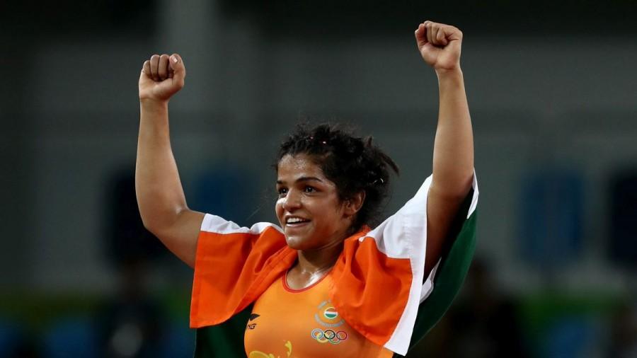 Sakshi Malik,Sakshi Malik wins bronze medal,Sakshi Malik wins bronze medal in Olympics,Sakshi Malik wins in Olympics