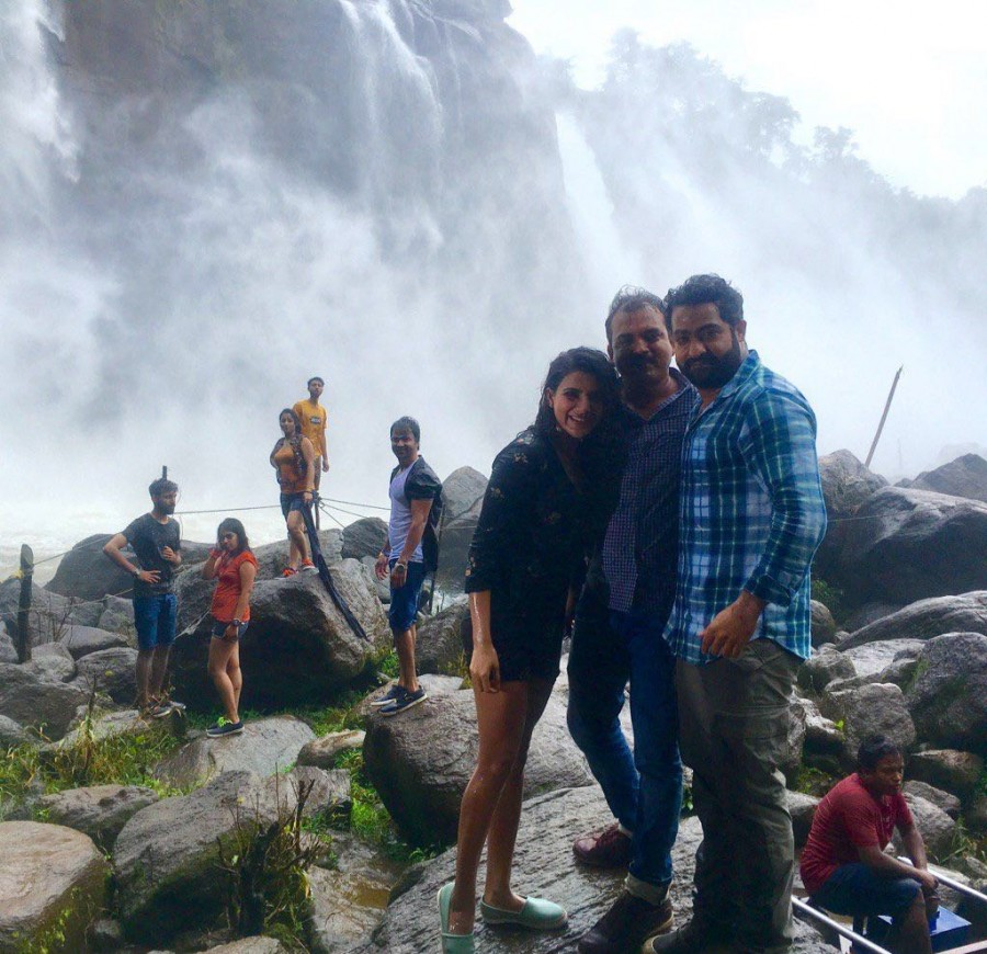 Janatha Garage,Jr Ntr,Mohanlal,Samantha,Nithya Menen,Jr Ntr Janatha Garage,Janatha Garage working stills,Janatha Garage on the sets,Telugu movie Janatha Garage,Janatha Garage movie stills,Janatha Garage movie pics,Janatha Garage movie images,Janatha Garag