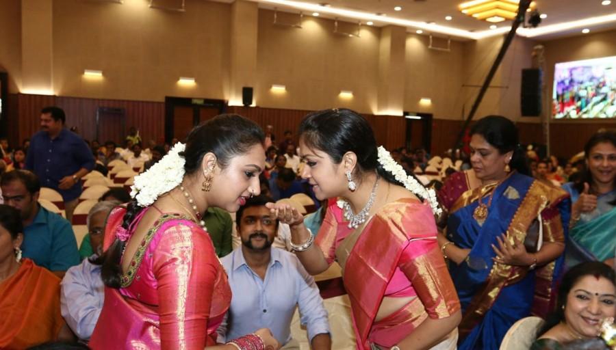 Suriya,Jyothika,Sasikala Natarajan,Puneeth Rajkumar,Rayanne Hardy Marriage,Rayanne Hardy wedding,Vijay,Chiyaan Vikram,Chiranjeevi,Prabhu,Ramki,K Bhagyaraj,Sasikala Natarajan,Vairamuthu,Poornima,Vadivukarasi,Gayathri Raguram,Vidyullekha Raman,Uma Padmanabh