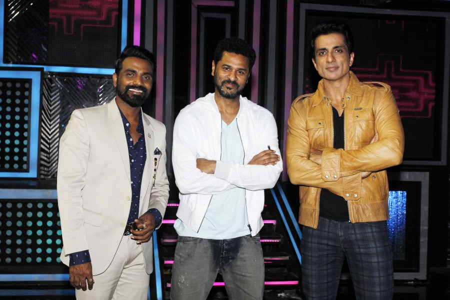Prabhu Deva,Sonu Sood,Prabhu Deva on dance reality show Dance + 2,Dance + 2,Prabhu Deva & Sonu Sood on Dance + 2 TV Show,Prabhu Deva and Sonu Sood