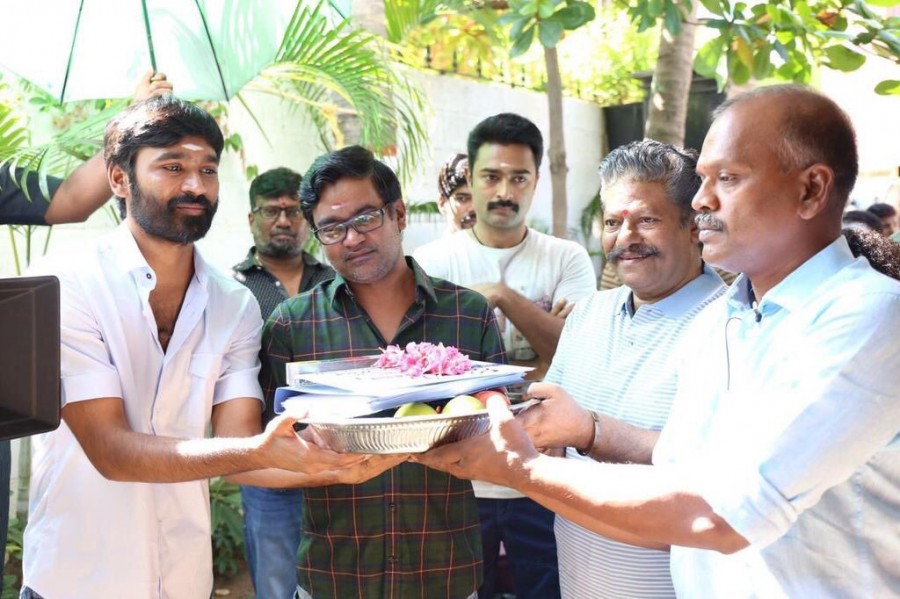 Power Pandi,Power Pandi movie launch,Power Pandi launch,Power Pandi movie pooja,Dhanush,Rajkiran,Prasanna,Sean Roldon,Power Pandi launch pics,Power Pandi launch images,Power Pandi launch photos,Power Pandi launch stills,Power Pandi launch pictures