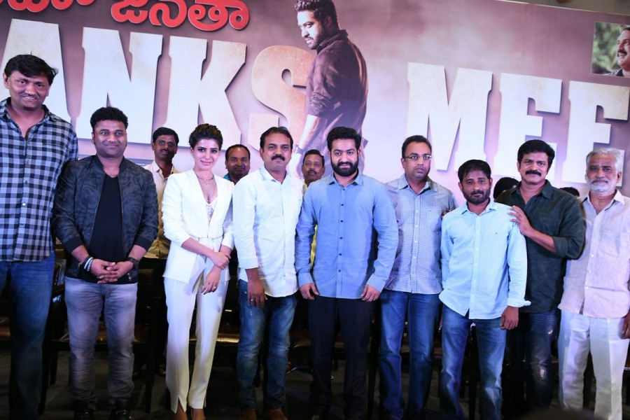 Jr NTR,Janatha Garage thanks meet,Janatha Garage,Janatha Garage sucess meet,Samantha,Mohan Lal,Janatha Garage thanks meet pics,Janatha Garage thanks meet images,Janatha Garage thanks meet photos,Janatha Garage thanks meet stills,Janatha Garage thanks meet
