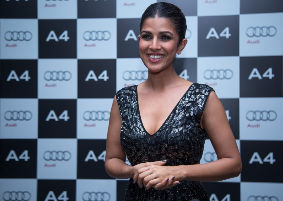 Nimrat Kaur,Ravi Shastri,Nimrat Kaur and Ravi Shastri,Audi A4,Audi A4 launch,Indian Cricketer Ravi Shastri,Mr Joe King,Audi A4 launch pics,New Audi A4,Audi A4 launch images,Audi A4 launch stills,Audi A4 launch pictures