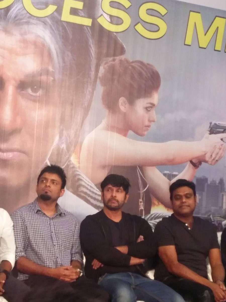 Chiyaan Vikram,Vikram,Iru Mugan success meet,Iru Mugan,Vikram at Iru Mugan success meet,Iru Mugan success meet pics,Iru Mugan success meet images,Iru Mugan success meet photos,Iru Mugan success meet stills,Iru Mugan success meet pictures