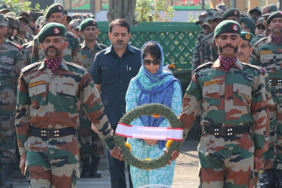 Uri Terror Attack,Uri Terror,Uri Attack,ceremony of martyrs of Uri Terror Attack,ceremony of martyrs,ceremony of Uri Terror Attack,ceremony of Uri Attack,Wreath laying ceremony
