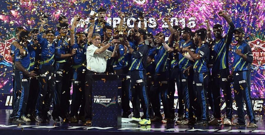 Tuti Patriots,Tuti Patriots wins Title,Chepauk Super Gillies,TNPL final,TNPL 2016,Tuti Patriots beat Chepauk Super Gillies,Tamil Nadu Premier League 2016,Tamil Nadu Premier League