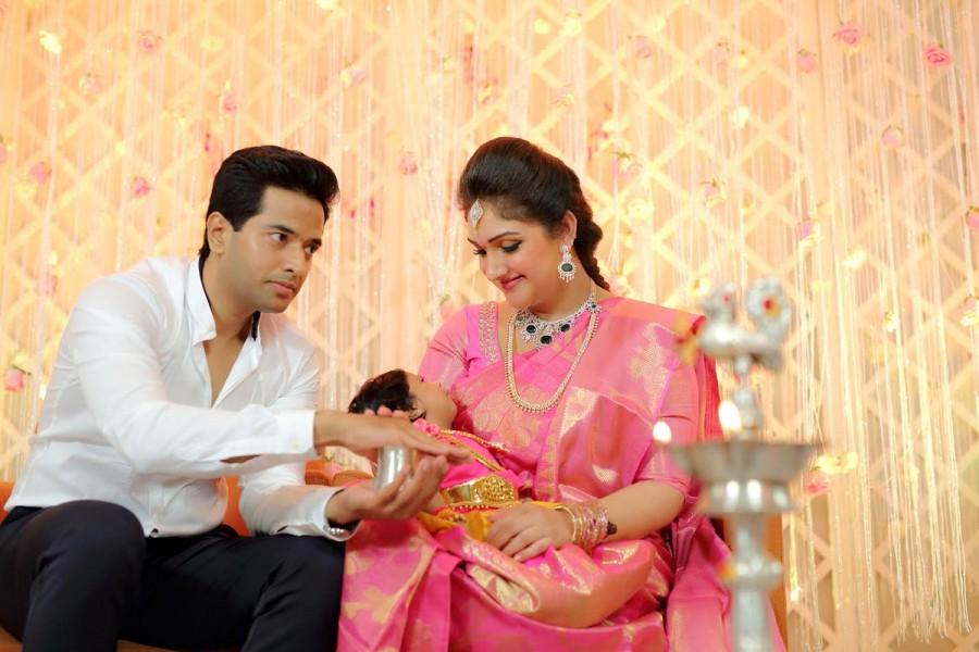 Arun Vijay,Aishwarya R. Dhanush,Sneha,Vijaykumar,Sridevi Vijaykumar's baby Rupikaa,Rupikaa,Rupikaa naming ceremony