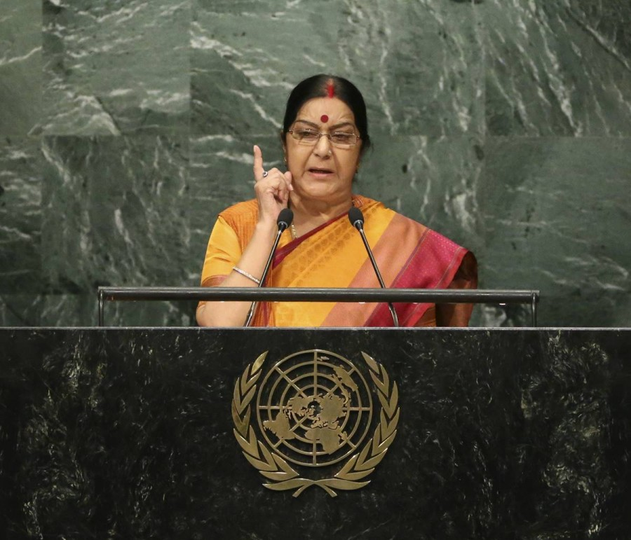 Sushma Swaraj speech at 71st UNGA session,Sushma Swaraj speech,71st UNGA session,UNGA session,Sushma Swaraj addresses UN General Assembly,UN General Assembly,India vs Pakistan,Kashmir,Kashmir issue,Kashmir pakistan,terror attacks