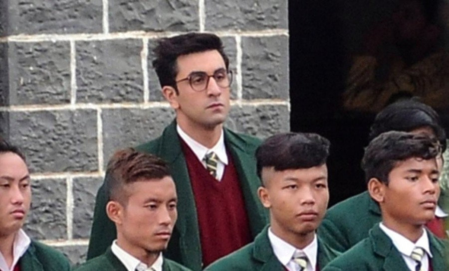 Ranbir Kapoor,Ranbir Kapoor on the sets of Jagga Jasoos,Ranbir Kapoor on Jagga Jasoos,Jagga Jasoos,Jagga Jasoos on the sets,Jagga Jasoos working still,Bollywood movie Jagga Jasoos,Jagga Jasoos pics,Jagga Jasoos images,Jagga Jasoos photos,Jagga Jasoos stil
