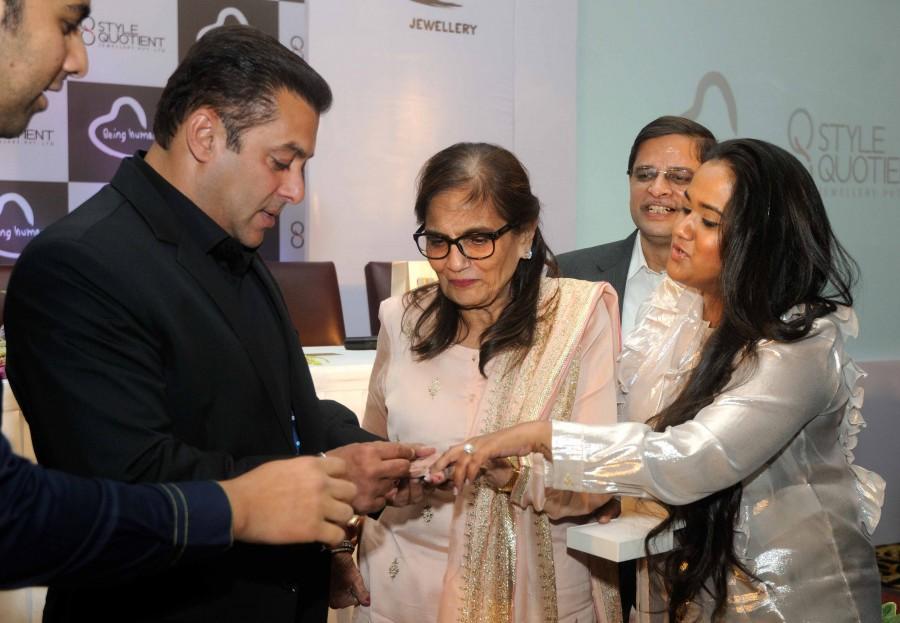Salman Khan,Salman Khan enters jewelery segment,jewelery segment,Being Human brand enters jewelery segment,Salman Khan Foundation,Style Quotient Jewellery Pvt. Ltd,Style Quotient Jewellery,actor Salman Khan,Salman Khan pics,Salman Khan images,Salman Khan