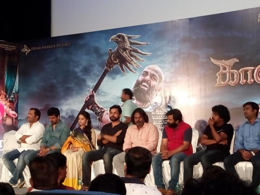 Kaashmora Audio launch,Kaashmora,Kaashmora Audio,Kaashmora music launch,Kaashmora music,Karthi,Sri Divya,Karthi at Kaashmora Audio launch,Sri Divya at Kaashmora Audio launch,Kaashmora Audio launch pics,Kaashmora Audio launch images,Kaashmora Audio launch