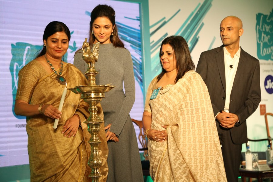 Deepika Padukone,Deepika Padukone launches Mental Health Awareness Campaign,Mental Health Awareness Campaign,Mental Health Day,Mental Health Day Campaign,Deepika Padukone pics,Deepika Padukone images,Deepika Padukone photos,Deepika Padukone stills,Deepika