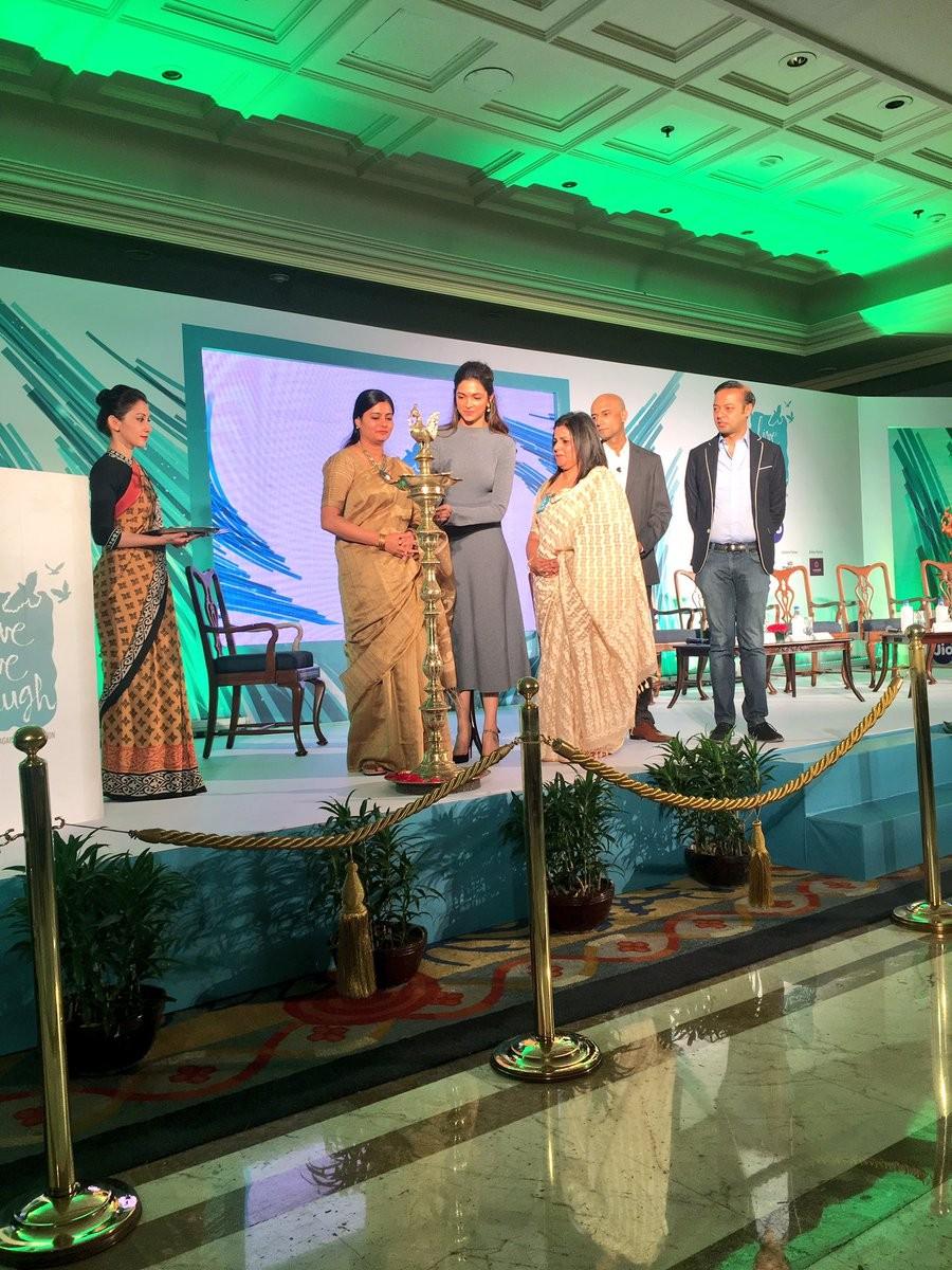 Deepika Padukone,Deepika Padukone launches Mental Health Awareness Campaign,Mental Health Awareness Campaign,Mental Health Day,Mental Health Day Campaign,Deepika Padukone pics,Deepika Padukone images,Deepika Padukone photos,Deepika Padukone stills,Deepika