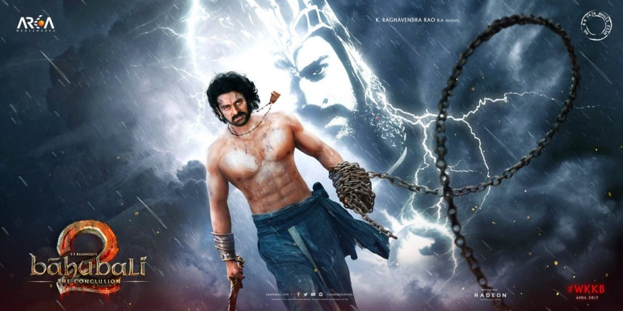 Baahubali 2 first look,Baahubali 2,Baahubali 2 first look poster,Baahubali 2 poster,Baahubali 2 movie first look,Prabhas,actor Prabhas,Prabhas birthday,Prabhas Baahubali 2 first look,Telugu actor Prabhas