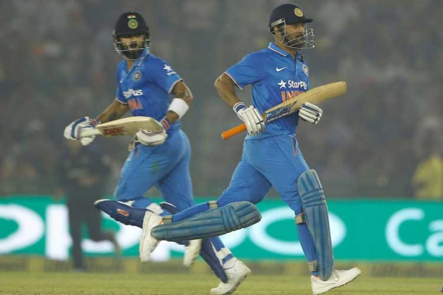 India beat New Zealand by 7 wickets,India beat New Zealand,India beats New Zealand,3rd ODI,India vs New Zealand,Virat Kohli,MS Dhoni