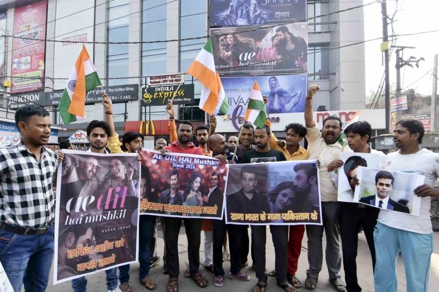 Bajrang Dal,Ae Dil Hai Mushkil,protests screening of Ae Dil Hai Mushkil,Fawad Khan,Pakistani actor Fawad Khan,Karan Johar