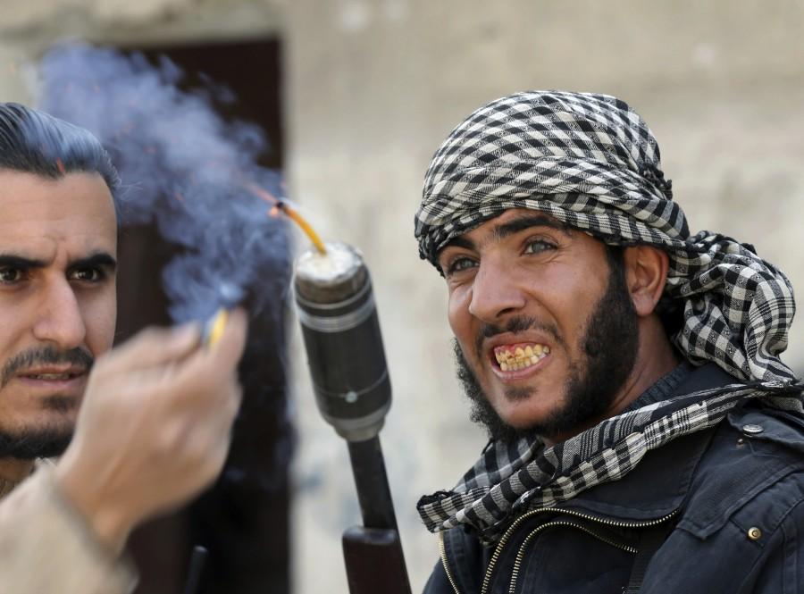 DIY weapons of Syria,Syria DIY weapons,Syrian tanks,Syrian missiles,Syrian mortars,Dahiyat al-Assad
