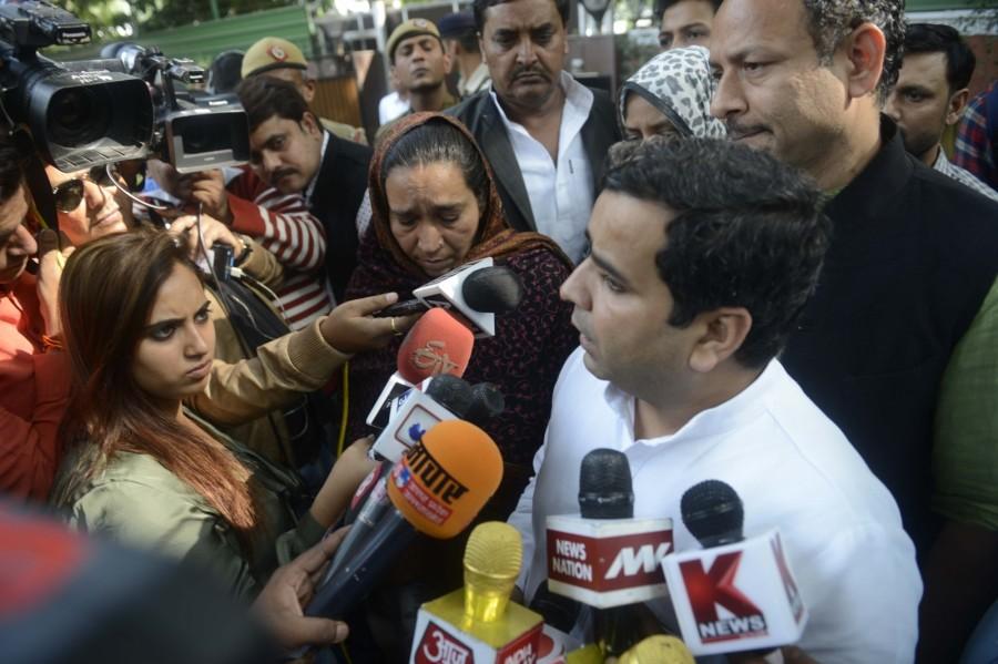 Rajnath Singh,JNU student Najeeb,Najeeb,Najeeb mother,Union Home Minister Rajnath Singh,Fatima Nafees