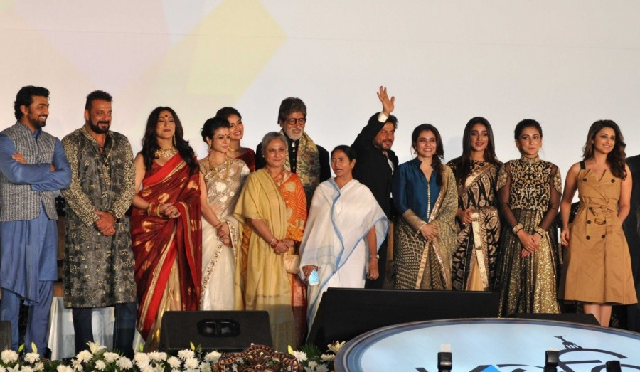 Mamata Banerjee,Amitabh Bachchan,Shah Rukh Khan,22nd Kolkata International Film Festival,Kolkata International Film Festival,International Film Festival,International Film Festival of India,SRK