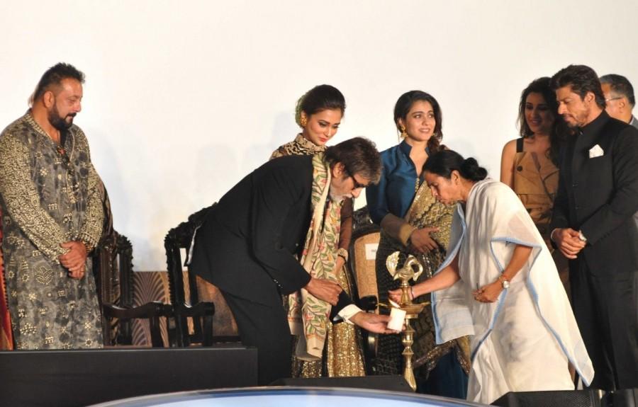 Mamata Banerjee,Amitabh Bachchan,Shah Rukh Khan,22nd Kolkata International Film Festival,Kolkata International Film Festival,International Film Festival,International Film Festival of India,SRK