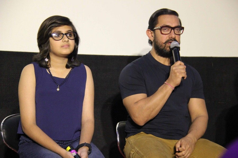 Further, Aamir and Nitish also spoke about the rigorous casting process which they underwent before shortlisting Zaira and Suhani, calling them sheer jewels.