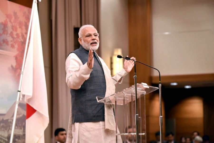 Narendra Modi,PM Narendra Modi,Narendra Modi in Japan,Modi in Japan,Narendra Modi addresses Indian diaspora in Japan