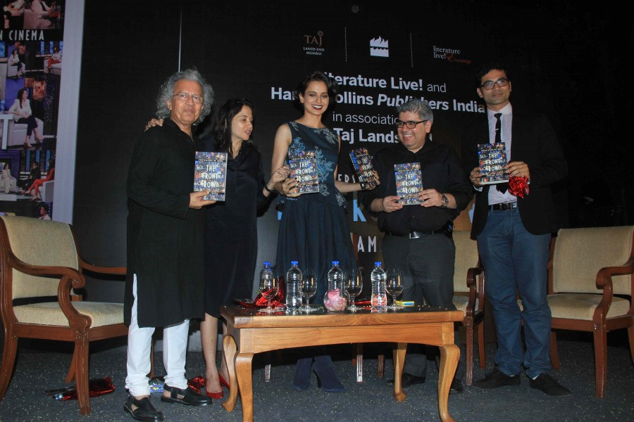 Kangana Ranaut,The Front Row,Anupama Chopra,Vidhu Vinod Chopra,Rajeev Masand,Photos
