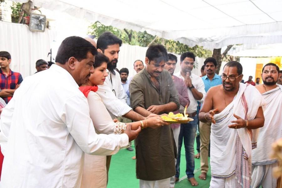 Pawan Kalyan,Trivikram Srinivas,Nithiin,Nithiin new movie pooja,Nithiin new movie launch,Nithiin movie pooja,Nithiin movie launch