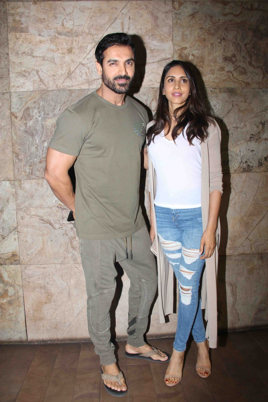 John Abraham,Sonakshi Sinha,Varun Dhawan,Force 2 Special Screening,Force 2,Force 2 Special Screening pics,Force 2 Special Screening images,Force 2 Special Screening photos,Force 2 Special Screening stills,Force 2 Special Screening pictures