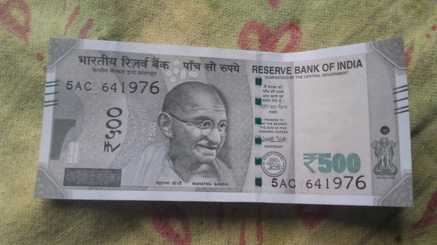 Rs 500 note,New Rs 500 note,Two variants of Rs 500 note,2 types of Rs 500 note,RBI printing defect,printing defect