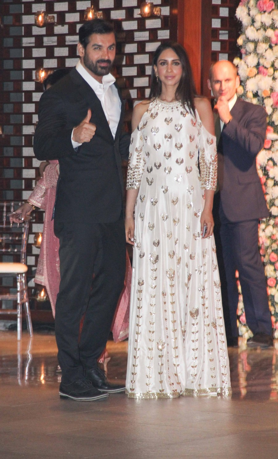 Sachin Tendulkar,John Abraham,Jackie Shroff,Ambani,Ambani bash,Ambani pre-wedding bash,Ambani pre-wedding bash pics,Ambani pre-wedding bash images,Ambani pre-wedding bash photos,Ambani pre-wedding bash stills,Ambani pre-wedding bash pictures