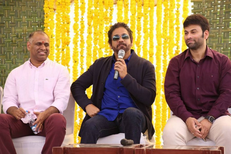 Nagarjuna,Akkineni Nagarjuna,Raju Gari Gadhi 2,Raju Gari Gadhi 2  movie launch,Raju Gari Gadhi 2  movie pooja,Nagarjuna's Raju Gari Gadhi 2,Raju Gari Gadhi 2 movie launch pics,Raju Gari Gadhi 2 movie launch images,Raju Gari Gadhi 2 movie launch photo
