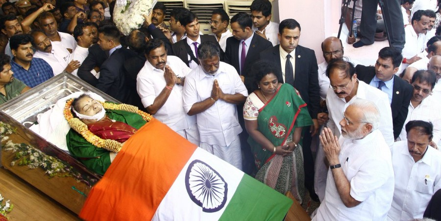 M. K. Stalin,O. Panneerselvam,Vijayakanth,M. K. Stalin pays last respect to Amma,O. Panneerselvam pays last respect to Amma,Vijayakanth pays last respect to Amma,last respect to Amma,Jayalalithaa