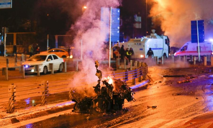 Twin blasts,Turkey Twin blasts,Twin blasts in Istanbul,Twin blasts near Istanbul football stadium,Istanbul football stadium,Turkey,Turkey Blast,Turkey twin blast