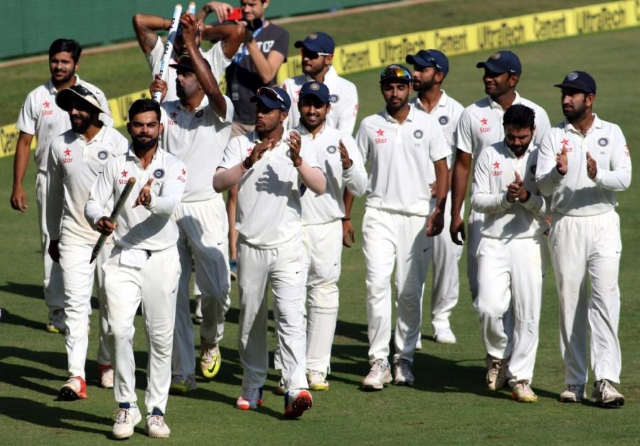 India thrash England,India beats England,India thrashed England,Ashwin,Ravichandran Ashwin,Virat Kohli,Kohli,India thrash England in 4th Test,India thrash England by an innings and 36 runs,India beats England 36 runs