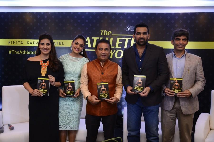 Sunil Gavaskar,Zaheer Khan,Chhaya Momaya,Pallavi Jaikishan,Kinita Kadakia Patel,The Athlete In You,Nutrition Guide